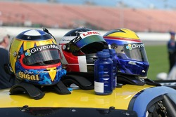 Helmets of #05 Sigalsport BMW BMW M3 drivers