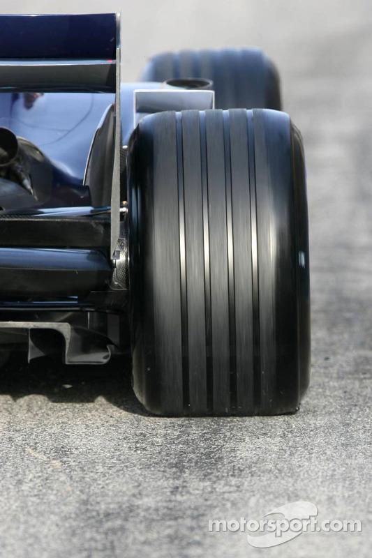 Pneus Michelin sur la Red Bull Racing