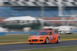 #63 Team Spencer Motorsports Mazda RX-8: Dennis Spencer, Scott Spencer, Roger Mandeville, Rich Grupp, Gary Drummond