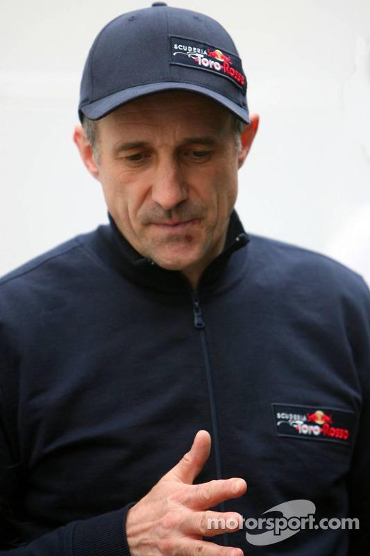 Le chef d'équipe de la Scuderia Torro Rosso Franz Tost