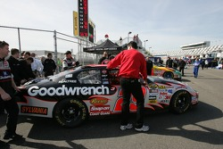 GM Goodwrench Chevy at tech inspection