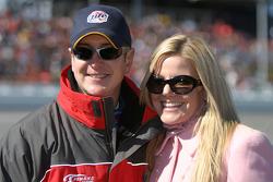 Kurt Busch and fiancée Eva Bryan