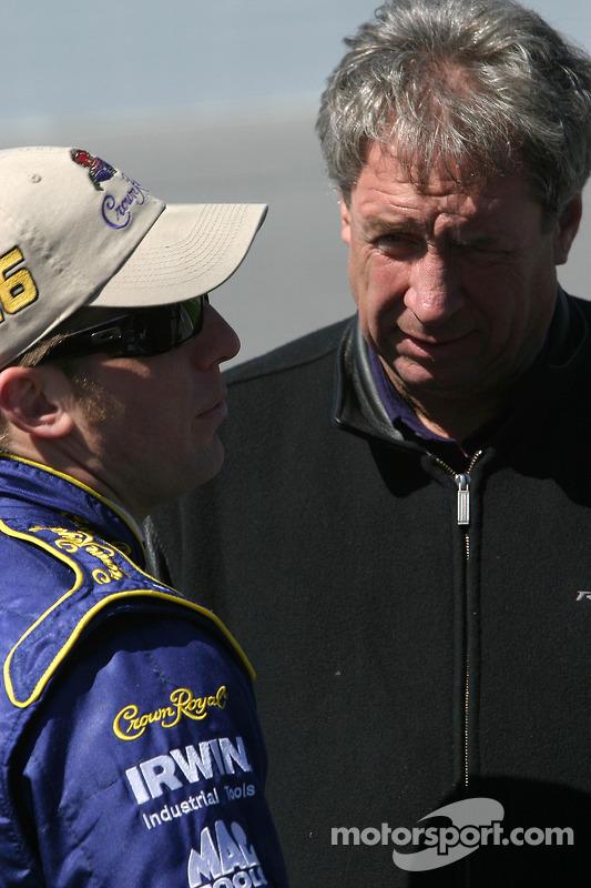 Jamie McMurray et Jimmy Fennig