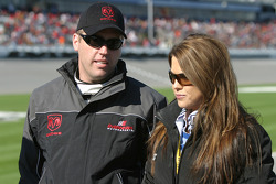 Jeremy Mayfield with wife Shana