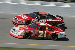 Ken Schrader and Carl Edwards