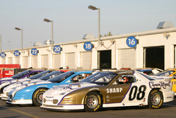 IROC cars ready for the race