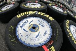 Tires of Jamie McMurray