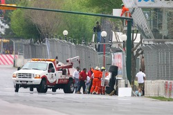 Marshals to the rescue after the crash of Hayanari Shimoda