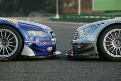 The Audi A4 DTM vs the AMG-Mercedes C-Klasse