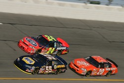 Michael Waltrip, Jeff Gordon and Tony Stewart