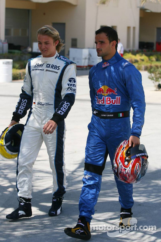 Nico Rosberg et Vitantonio Liuzzi