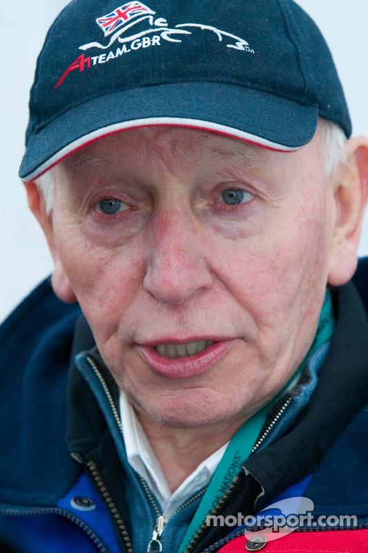 Le team principal de l'équipe de Grande-Bretagne, John Surtees