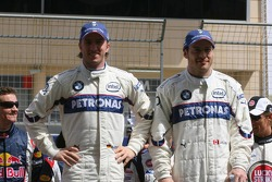 Drivers presentation: Nick Heidfeld and Jacques Villeneuve