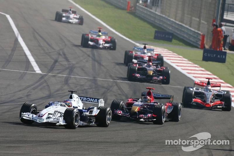 Jacques Villeneuve y Scott Speed