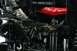 Engine and gearbox of McLaren Mercedes