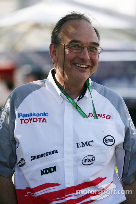 Le président de Toyota Motorsport John Howett