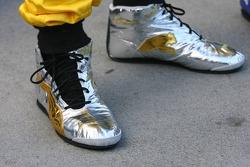 El calzado de Fernando Alonso en su época en Renault