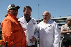 Mario Batali teaches Eddie Gosage and Bruton Smith to cook