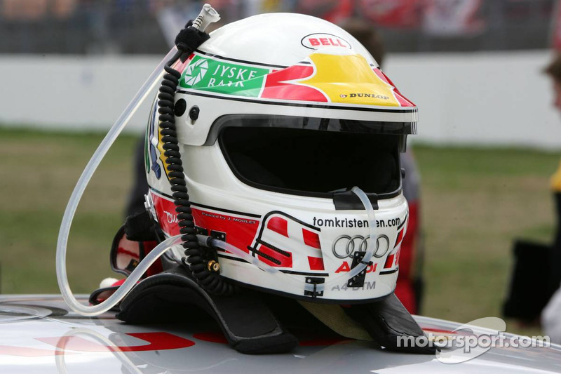 Casque de Tom Kristensen