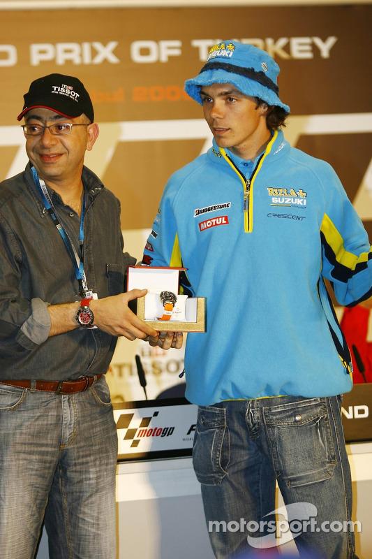 Chris Vermeulen en pole position