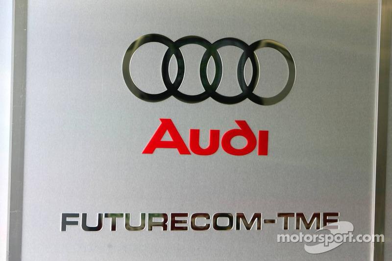 Logo Audi de l'équipe Futurecom-TME