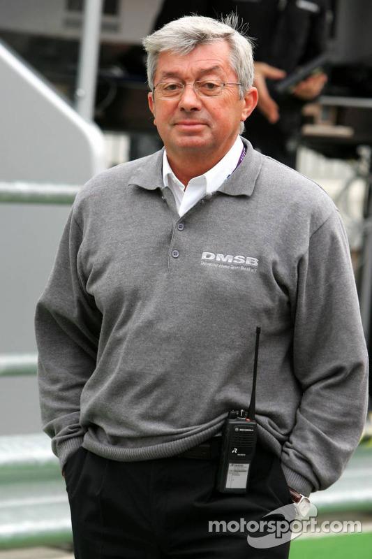 Roland Bruynseraede, directeur de course de DTM