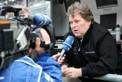 Norbert Haug interviewed for TV