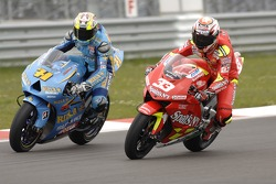 Marco Melandri and Chris Vermeulen