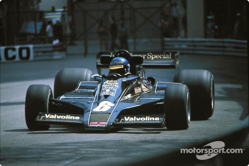El accidente de Ronnie Peterson