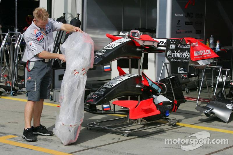 Le garage MF1