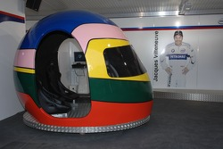 Visit of BMW Sauber F1 team Pitlane Park: one of the exhibits