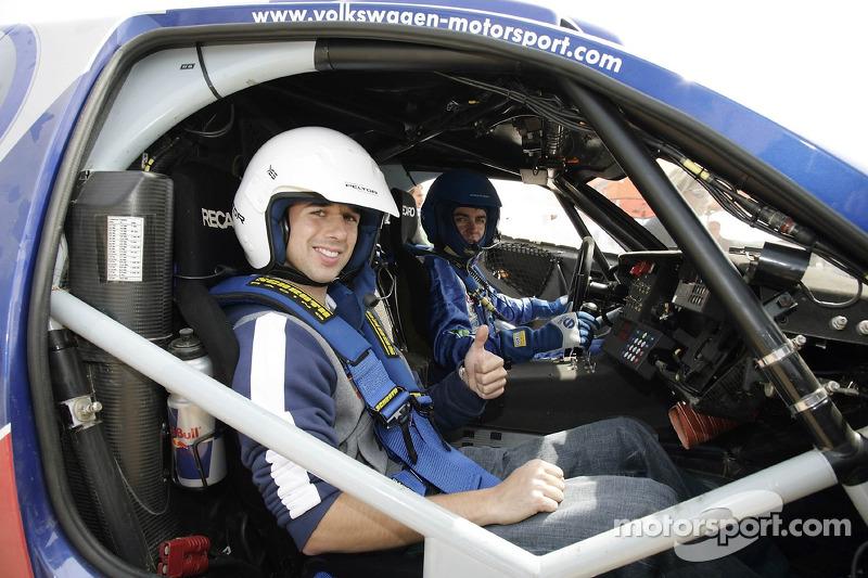 Red Bull: Neel Jani et Giniel de Villiers dans un Volkswagen Touareg