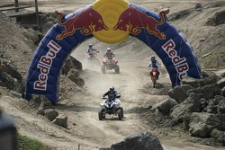 Red Bull goes off track