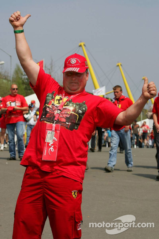 Fans au Nürburgring
