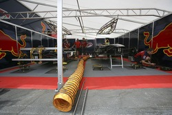 Arden International prepare their cars