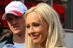 Ralf Schumacher and Corina Schumacher