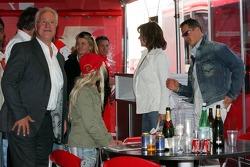 Rolf Schumacher, Corina Schumacher, Barbara Stahl and Michael Schumacher