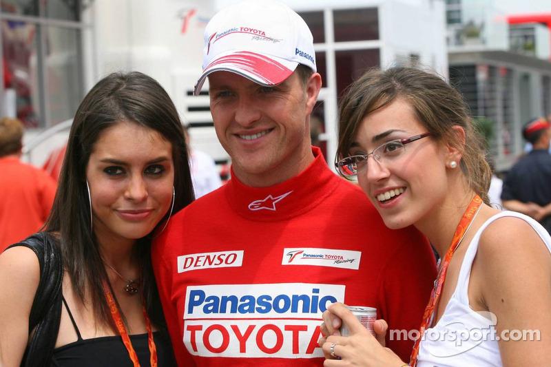 Ralf Schumacher avec des fans