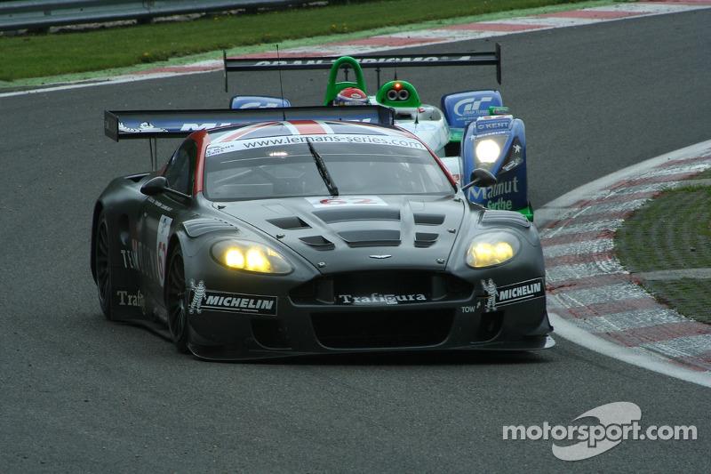 #62 Cirtek Motorsport Aston Martin DBR9: Peter Hardman, Christian Vann