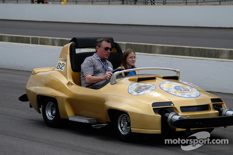 Johnny Rutherford, trois fois champion des Indianapolis 500