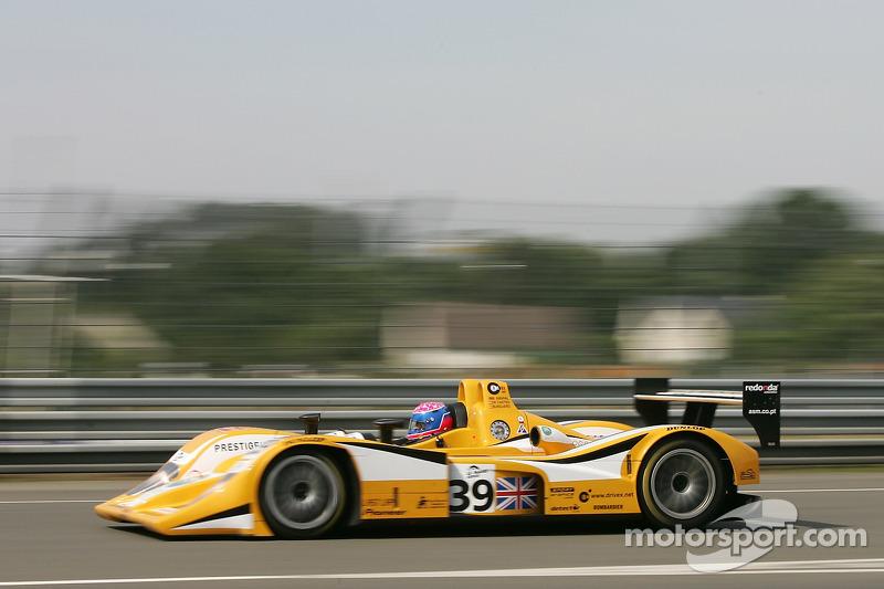 #39 Chamberlain Synergy Motorsport Lola B05/40 AER: Miguel Amaral, Miguel Angel Castro, Angel Burgueno