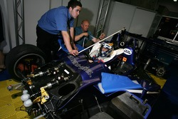 Seat fitting for Allen Timpany