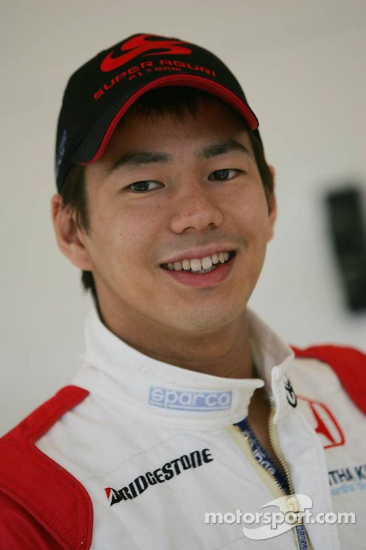 Piloto de pruebas de Super Aguri Sakon Yamamoto