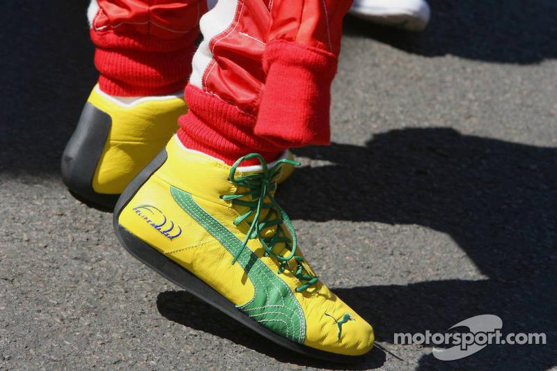 Zapatos de Felipe Massa
