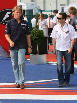 Nico Rosberg and Nicolas Todt