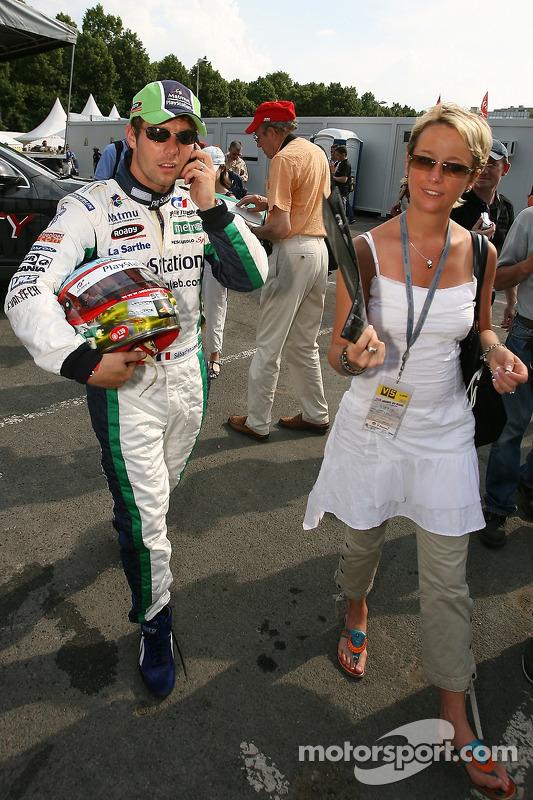 Sébastien Loeb avec sa femme Séverine