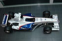 BMW F1 on display