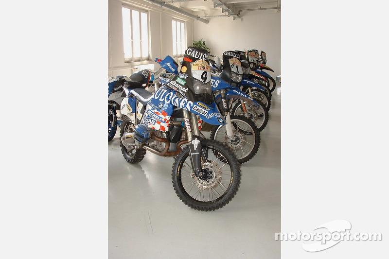 Les motos BMW du Paris-Dakar