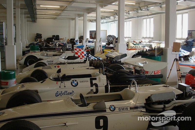 Various BMW race cars