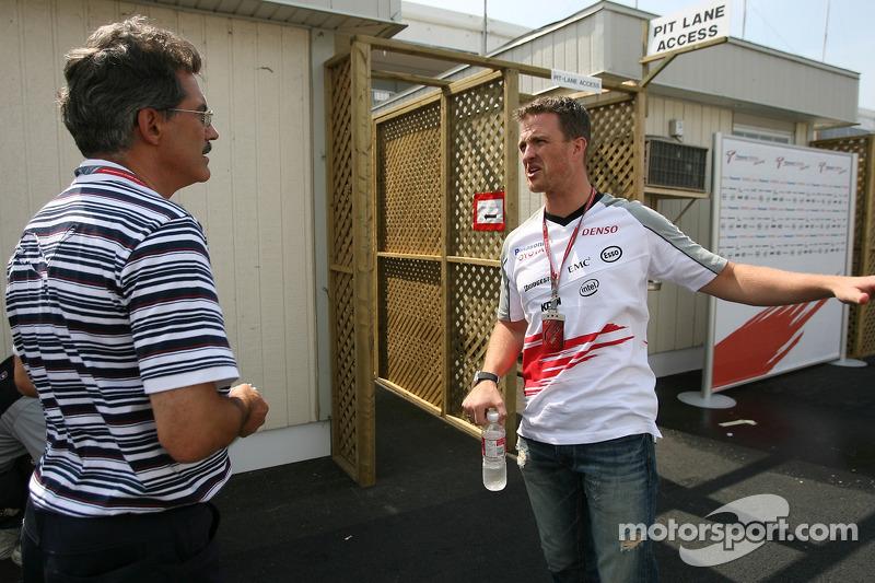 Dr. Mario Theissen et Ralf Schumacher